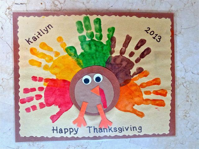 Terrific Preschool Years: Thanksgiving placemats
