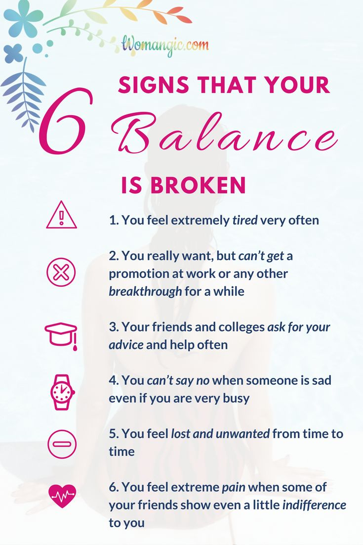Many of problems, worries and even anxiety happen because of imbalance. Especially it works for women, we fall into the state of depression more often simply because we are wired to give and can't stop when it's a time. Check for yourself and see if you need any work on your balance, how to restore it in practical step in the article linked to this post. Balance | Balance Improve | Balance Lifestyle | Balance Chakras |