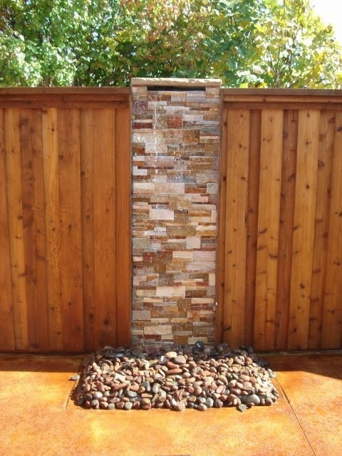 17 best images about water features on pinterest gardens for Garden fence features