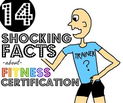 awesome article about fitness certifications for those looking into being certified and for clients looking for trainers.