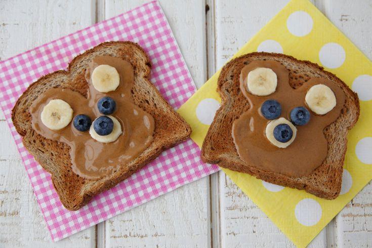 Teddy Bear Toast on Weelicious.com