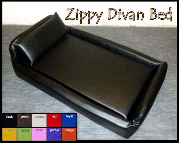X-LRG Zippy Faux Leather Divan Pet Dog Bed - 5'' (10cm) Reflex Mattress - Waterproof Wipe clean fabric - Flea Proof Dustmite Proof - Thermal by ZippyUK on Etsy
