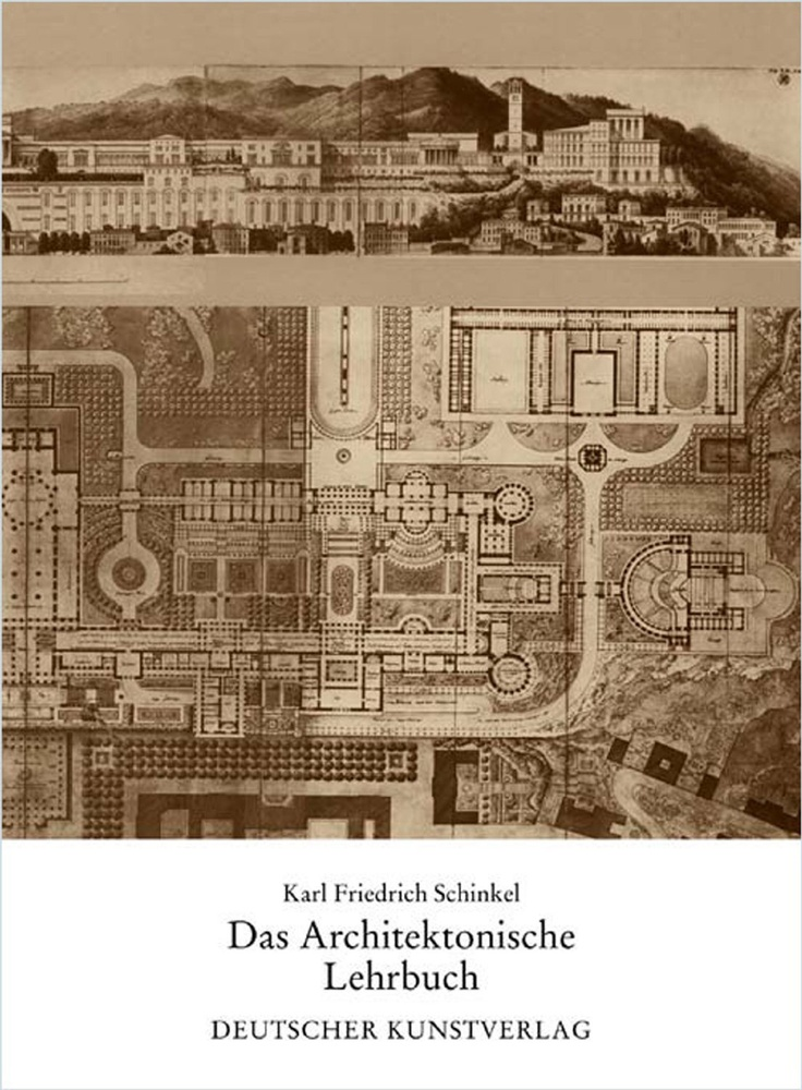 'Das Architektonische Lehrbuch' by Karl Friedrich Schinkel (1979). Publication of the unfinished book on architecture Karl Friedrich Schinkel worked on during a large part of his professional life. His work never fails to amaze and inspire me.