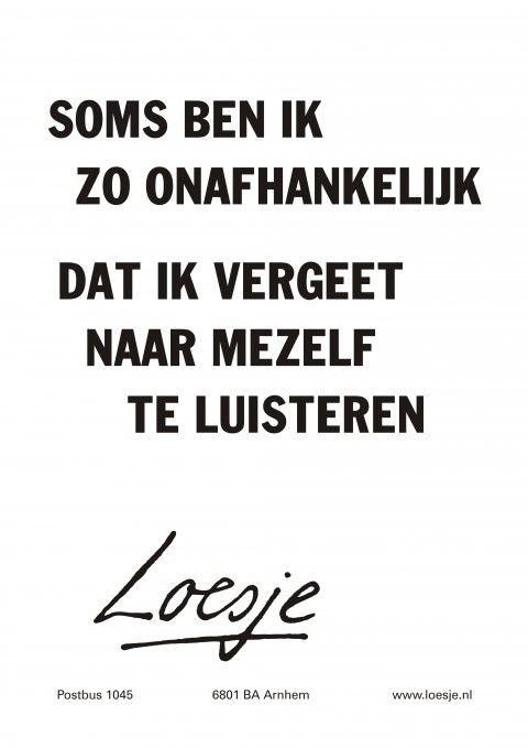 #onafhankelijk #loesje