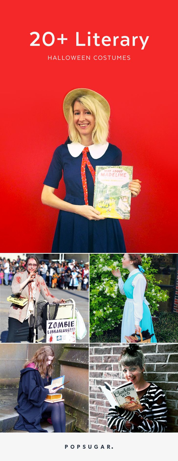 20 Literary costumes for Halloween