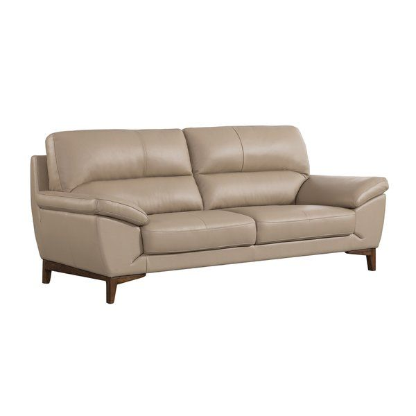 Forestport Leather Sofa Nel 2020 Divani