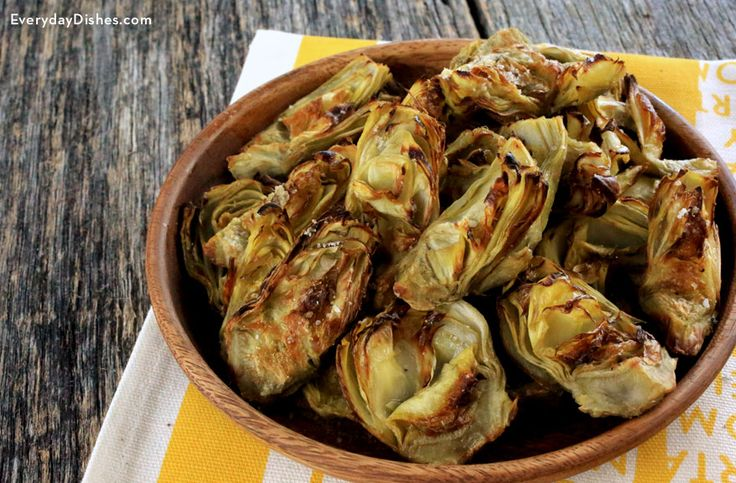 They're fast, easy, tasty, and perfect for dipping! Pair this roasted artichoke hearts recipe with your favorite sauce then serve as an appetizer or snack!