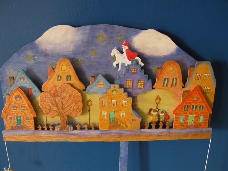 Sinterklaas trekplaat made by Erik