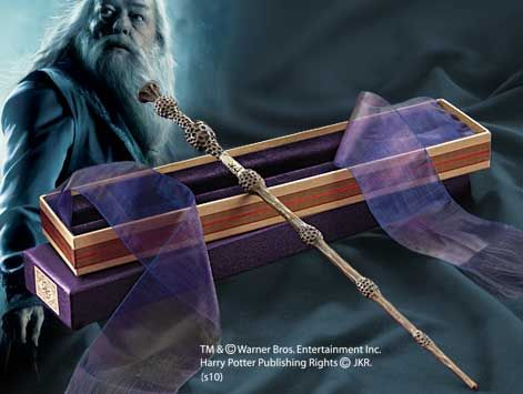 Dumbledore's Wand with Ollivanders Box Product Detail