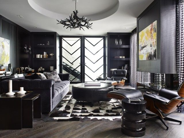 Modern monochromatic design isn't boring with tons of texture | | Interiors Addict | Design District