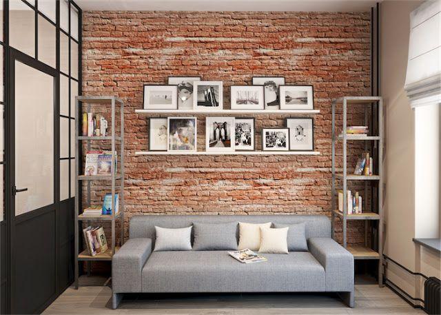 17 images about studio on pinterest coins modern - Ideas para decorar un apartamento pequeno ...
