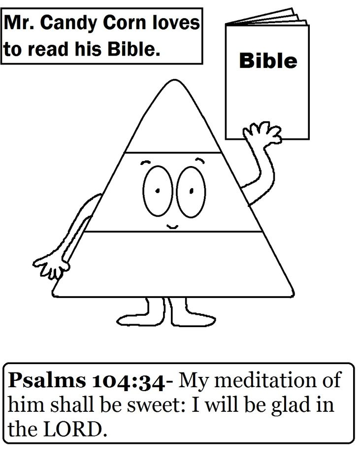 sunday school coloring pages house collection blog candy corn coloring page