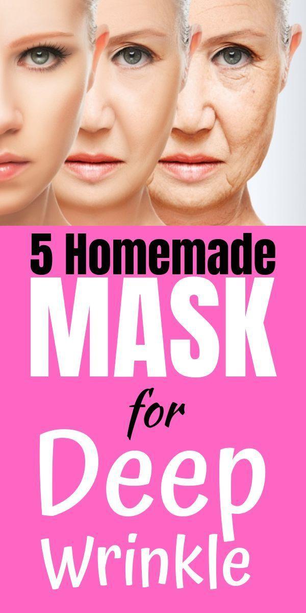 5 Homemade Masks for Deep Wrinkle
