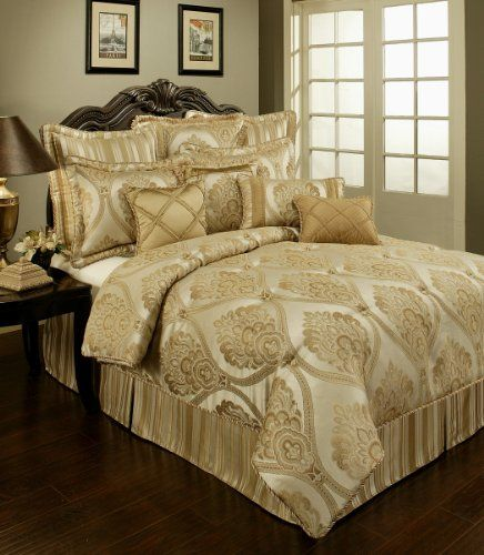 Tuscan Decor Colors | Austin Horn Classics Tuscany Bedding Collection, 4-Piece, California ...