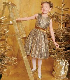 Little girls christmas dresses-ff2