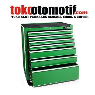 Kode : 01078023204 Nama : Roller Cabinet 7 Draw TEKIRO Merk : TEKIRO Tipe : 7 draw Status : Siap Berat Kirim : 10 Kg