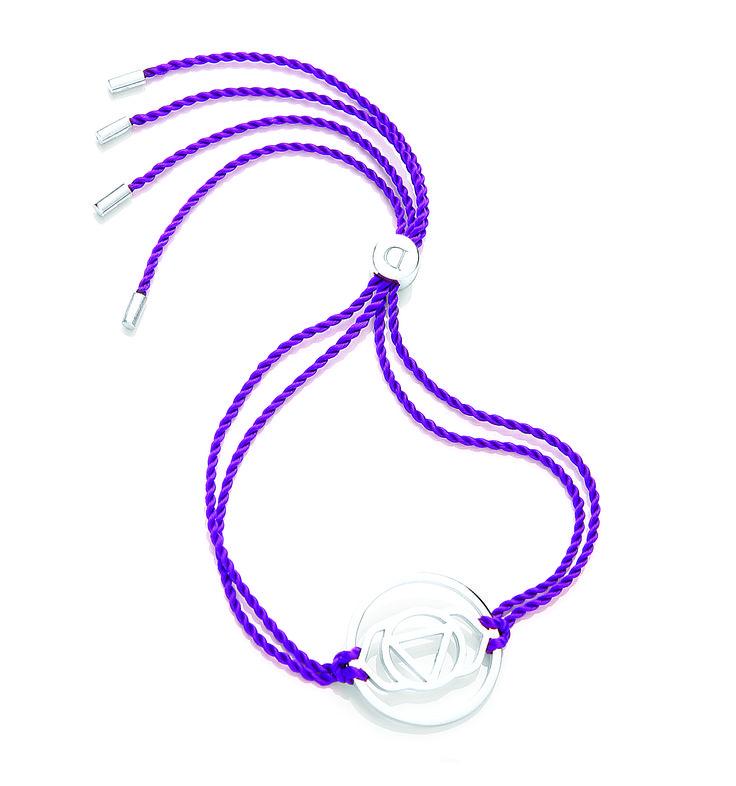 6. Brow silver colour cord