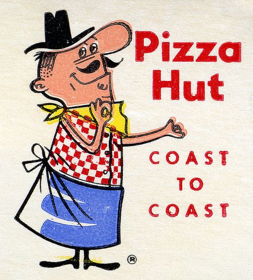 Pizza Hut...originated in Wichita, Kansas; the first Pizza Hut location is still there, located on the Wichita State University campus.