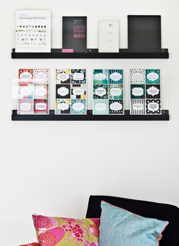 Interior design with Thought cards from Thoughtful app for iPhone