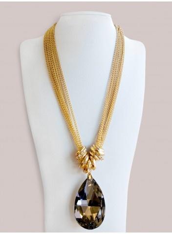 Adrienne Necklace in Gold by @IGIGI
