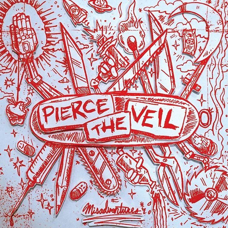 Pierce The Veil - Misadventures on Colored LP + Download