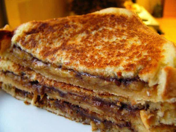 Resep Membuat Roti Bakar Pisang Special Komplit