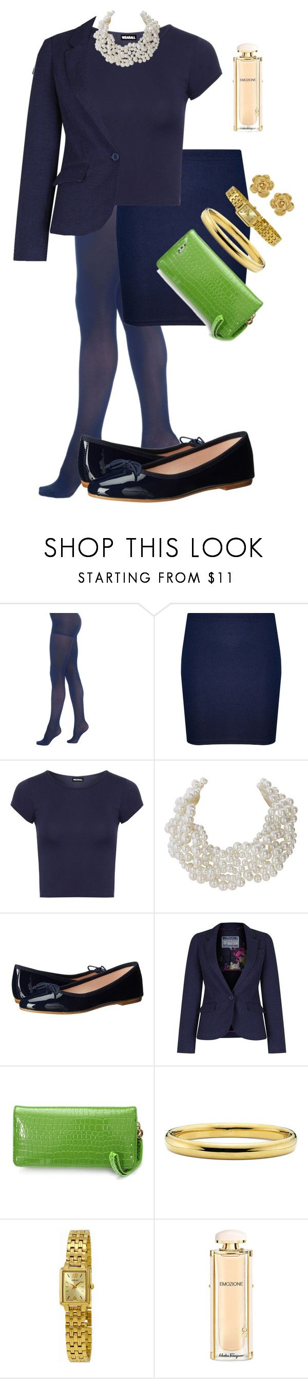 """""""Spring Style"""" by wardrobepieces on Polyvore featuring Berkshire, WearAll, Humble Chic, Summit by White Mountain, Joules, Seiko, Salvatore Ferragamo and Vintage"""