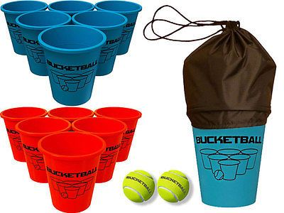 Other Backyard Games 159081: Bucketball - #1 Giant Beer Pong Game - Family Friendly Beach Game BUY IT NOW ONLY: $40.0
