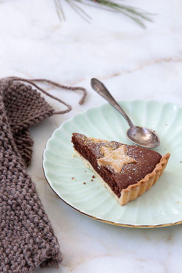 Tarta de chocolate y almendras, Food and Cook