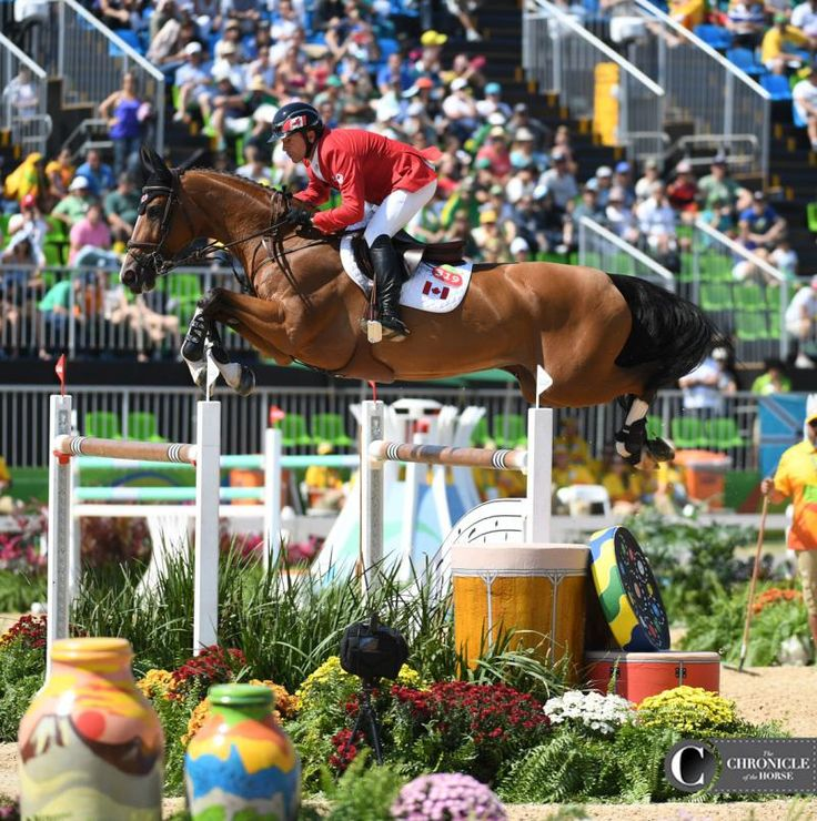 Eric Lamaze and Fine Lady 5 2016 Rio Olympic Games - Team Show Jumping Day 2…