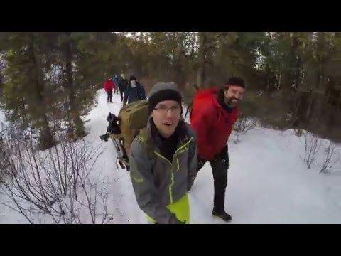 Ice Climbing on Kinuseo Falls - Behind the Scenes