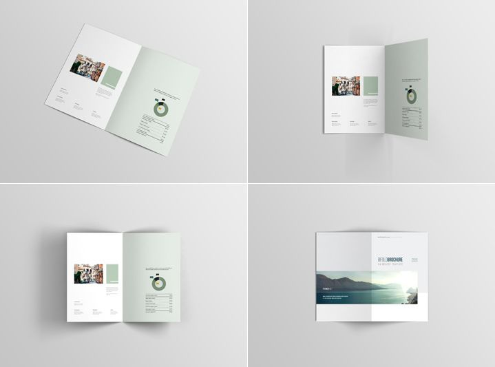 The 575 Best Brochure Mockup Template Images On Pinterest