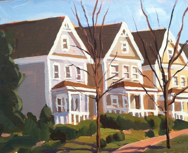 Baxter row houses