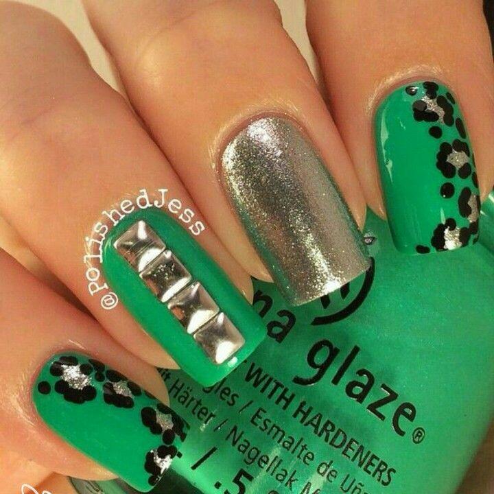 Mejores 1803 imágenes de Nail art en Pinterest | Arte de uñas ...