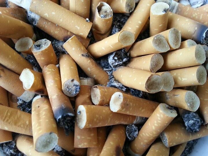 I smoke.