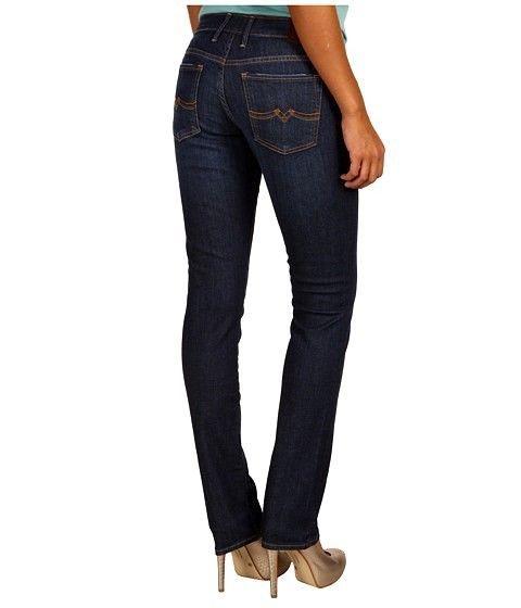 LUCKY BRAND SWEET'N Straight Leg Mid Rise Stretch Jeans Sz 4 / 27 W 29 x L 32 #LuckyBrand #StraightLeg