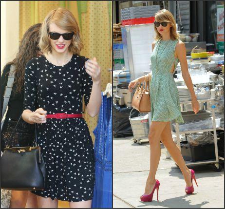 Toma nota de los vestidos de Taylor Swift: últimas tendencias en moda.