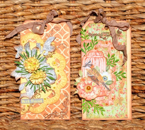Lovely The Art of Nature tags made by the talented Denise van Deventer #tags #mixedmedia #friends