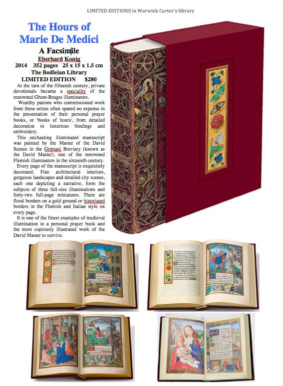The Hours of Marie De Medici : A Facsimile - The Bodleian Library
