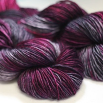 I don't usually pin yarn, but this Madelinetosh black velvet is gorgeous. Holy knitting needles, Batman!