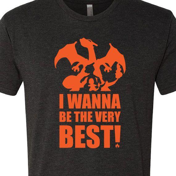 Pokémon Shirt Charizard Evolution