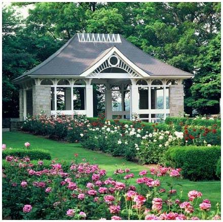 Rose Garden At Mill Creek Park