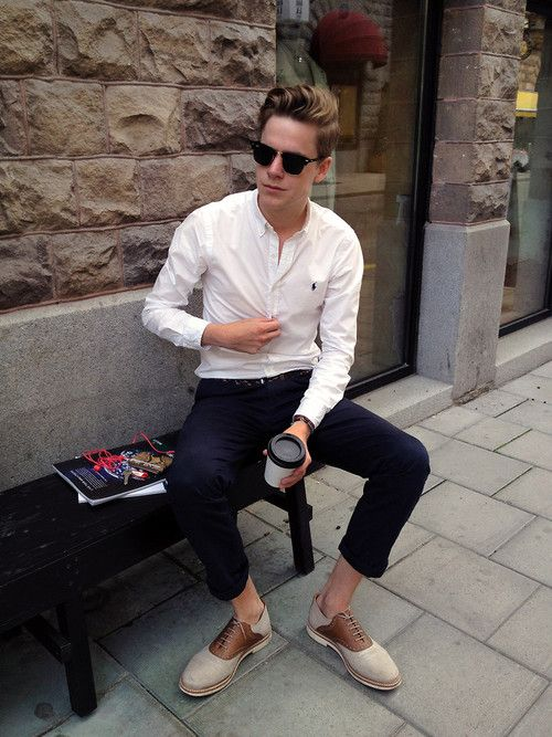 great look for a skinny guy