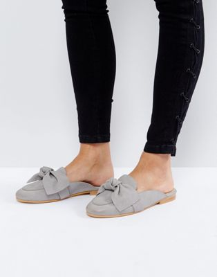 Office Fox Bow Slip On Mules