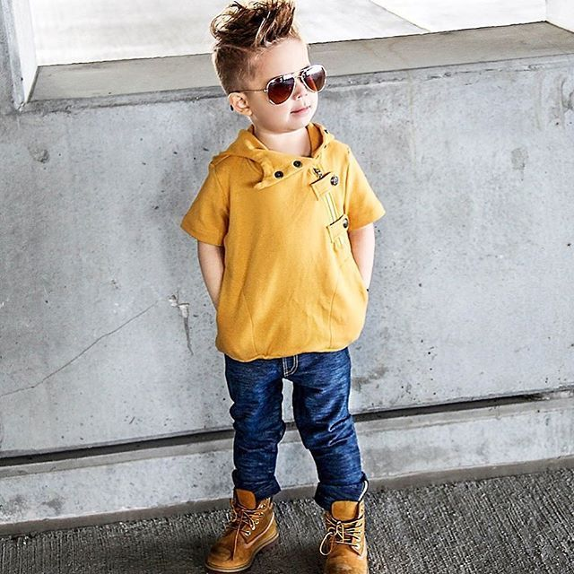 Top Fashion for cool kids  Handsome Maverick wears The Crescent hoodie jumper in mustard matched nicely with the M-501 the softest denim pants out there dont  miss out our brand enthusiasts search coming soon follow> @mischiefandco < Tap link bio & shop online or google us #mischiefandco #kidsfashion  @mavericksmedia