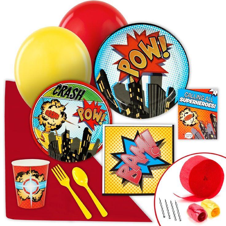 Teen Titans Go Birthday Party Theme Ideas and Supplies | Birthday Buzzin