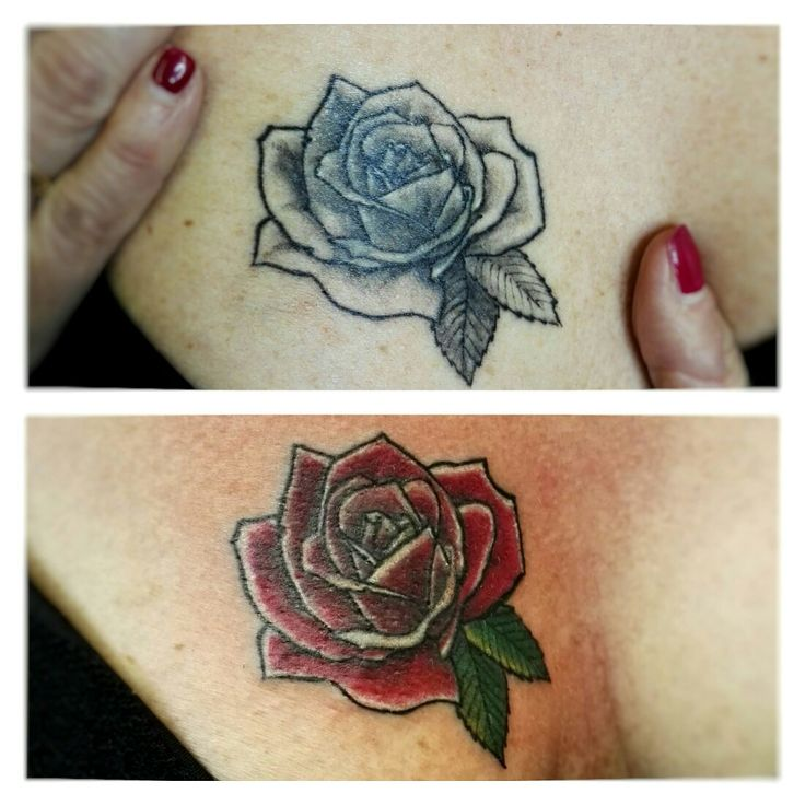 Remake rose tattoo