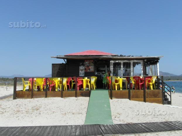 Chiosco Bar sulla spiaggia licenza (A+B) Rinnovato - Uffici e Locali commerciali In vendita a Olbia-Tempio