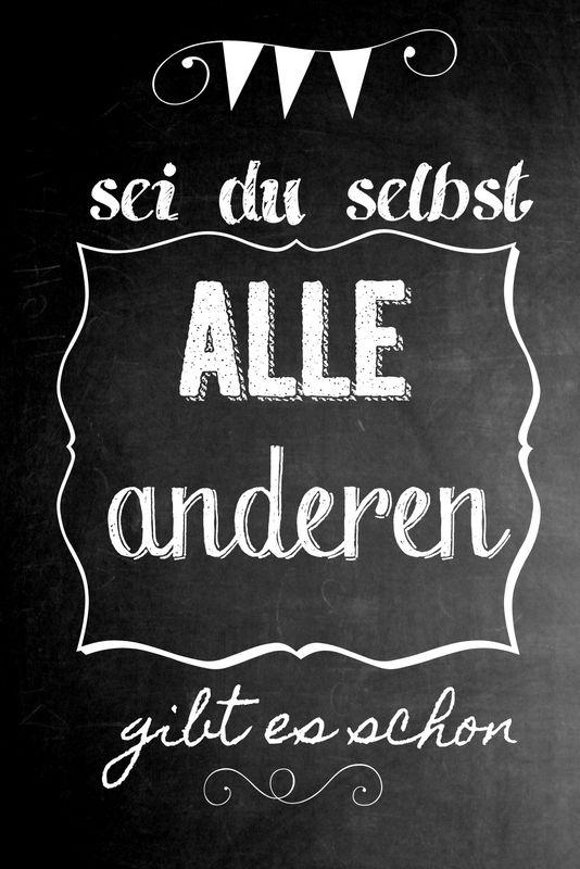 chalkboard+Kindermund+Wandtafel+Kreide+Schrift+Rezept+Spruch+sei+du+selbst+(1).jpg 534×800 Pixel