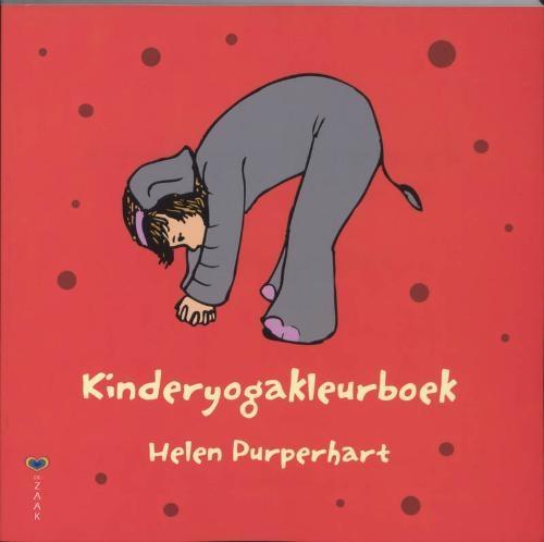 Prachtig kleurboek met duidelijke beschrijvingen van de kinderyoga houdingen.